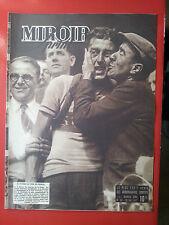 28/05/1947 miroir sprint n°53 CYCLISME BOUCLES DE LA SEINE BOBET RUGBY COUPE