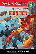 The Story of Iron Man (Level 2) (World of Reading) by Disney Book Group