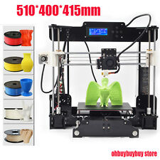 Acrylic Reprap Prusa I3 All Metal Parts Pro B 3D Printer free shipping OH