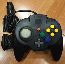 Nintendo 64 Hori Pad Mini Controller - Solid Black - USED - Tested & Working