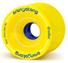 ORANGATANG 4President - 70mm 86a Yellow Longboard Wheels Rollen