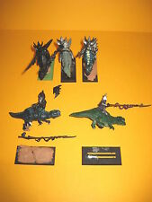 Elfos oscuros-Dark Elves - 5x metal Cold one Knights-echsenritter de metal