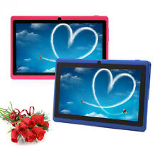 "IRULU 2pcs/lot 7"" Google Android 4.4 Tablet PC 8GB Quad Core Pink&Blue"