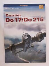 Kagero Book: Dornier Do 17/Do 215 - 194 photographs, 13 painting schemes, scale