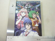 MACROSS TRIANGLE FRONTIER Complete Guide Book PSP EB *