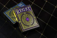 Regal Purple Playing Cards Deck Brand New Limited by Gamblers Warehouse