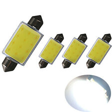 4 High Power COB LED 42mm Festoon C5W 264 265 Bulb Courtesy Interior Light White