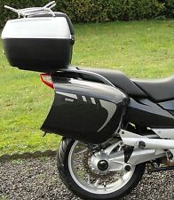2pt SILVER PANNIER STRIPES TO FIT BMW R1200RT K1200GT K1300GT