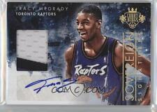 TRACY MCGRADY 2013-14 PANINI COURT KINGS AUTO PATCH #1/10 JERSEY NUMBER 1/1 SSP