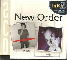 NEW ORDER Get Ready & low Life 2 CD SET AUSTRALIA w/SLIPCASE & SMASHING PUMPKINS