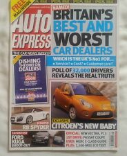 AUTO EXPRESS FORD KUGA v VW TIGUAN BUYING A USED MERCEDES C CLASS PASSAT CC