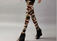fashion girls Punk Funky Sexy Leggings Stretchy Pencil Skinny Pants pant