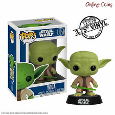 STAR WARS - YODA - FUNKO POP VINYL BOBBLE HEAD FIGURE - NEW IN BOX!
