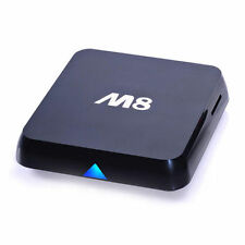 M8 Quad Core Latest Android TV Box XBMC PC WiFi KITKAT 4K HD FULLY LOADED UK