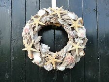 Shell wreath, Beach decor, Driftwood wreath, Summer wreath