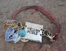 "'COWGIRL CANDY""  - 'HELL ON HEELS' WESTERN BRACELET - BRAND NEW"