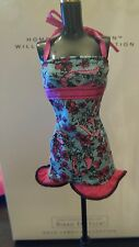 NEW  CUTE Blue & Pink Barbie  dress w/ Barbie's face on it for Barbie doll