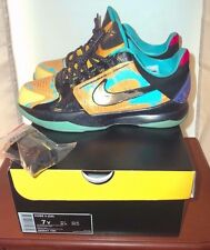 2014 Nike Zoom Kobe 5 Prelude Sz 7 Y Pop Art bruce lee wtk 1 2 3 4 5 6 7 9 X