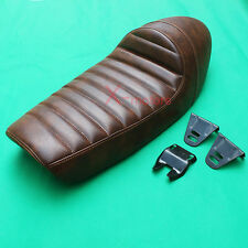 Universal brown Cafe Racer Seat For YAMAHA SR400 SR500 Hump Cushion Cafe seat