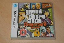 Grand Theft Auto Chinatown Wars Nintendo DS DSi 3DS PAL REINO UNIDO