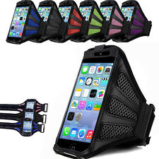 For SmartPhone Sports Running Exercise Mesh Armband Phone Case Cover Holder