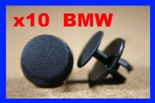 10 BMW bonnet boot insulation carpet upholstery lining fastener clips