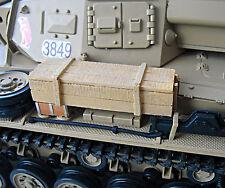 RC Panzer Zubehör Munitionskiste aus Resin in 1:16 (34) **Neu**