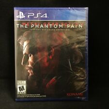 Metal Gear Solid V: The Phantom Pain  (PlayStation 4) BRAND NEW / Region Free