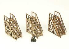 Warhammer 40K Necromunda Open Web Stairs 3 x 1 storey Industrial Terrain