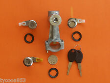 IGNITION BARREL / STEERING LOCK & ALL DOORS SUIT MQ ( MK ) NISSAN PATROL '81-'88