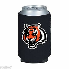 Official NFL Cincinatti Bengals Black Collapsible Can Koozie Kolder Kaddy