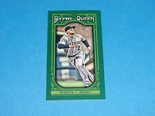 2013 Gypsy Queen TROY TULOWITZKI Mini Green/99 Rockies-Blue Jays CAL State 49ers