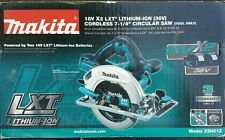 "Makita LXT 36V XSH01Z Lithium-Ion Cordless 7-1/4"" Circular Saw(TOOL ONLY)"