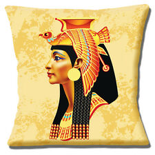 "NEW Egyptian Queen Head Bird Headdress Multicolour 16"" Pillow Cushion Cover"