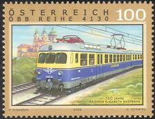 Autriche 2008 trains/chemins de fer/electric rail voiture/moteurs/transport 1v (at1011)