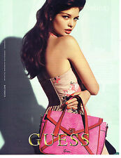 PUBLICITE ADVERTISING 094  2012   GUESS  collection sacs