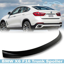 Painted BMW F16 F86 X6 Sport P-LOOK Trunk Boot Spoiler Wing 16-17 Drive35i