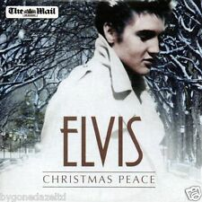ELVIS PRESLEY - CHRISTMAS PEACE THE MAIL PROMO 15 TRACK CD(FREE UK POST)