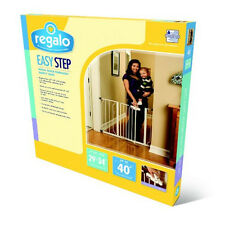 Regalo Easy Step Walk Thru Gate Baby Pet Child Safety 1160 Doorway Stairway NEW