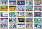 FRIDGE MAGNET - License Plates (Various Designs)- Large US States American M-W