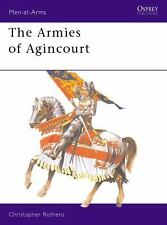 Osprey, The Armies of Agincourt, Medieval, Knights, MAA 113