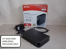 Buffalo Drivestation USB 2.0 external HDD enclosure unit, No hard drive fitted