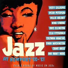 JAZZ AT NEWPORT 56-61 3 CD (NINA SIMONE, BILLIE HOLIDAY, DUKE ELLINGTON...) NEU