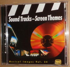 SOUND TRACKS - SCREEN THEMES- MUSICAL IMAGES Vol 34 CD -Image Library IMCD 3034
