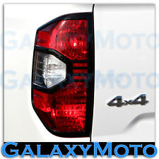 14-16 Toyota Tundra Crewmax Double Cab Truck Black Taillight Trim Bezel Cover