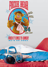 Roommates Muppets Show Fozzie Bear Peel and Stick Giant Wall Decal