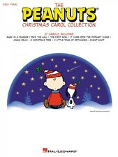 The Peanuts Christmas Carol Collection Sheet Music Easy Piano Songbook 000316060