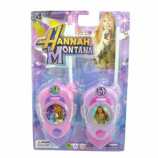Walkie Talkies Para Niños Hannah Montana-Brand New Toys