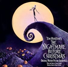 1 CENT CD The Nightmare Before Christmas SOUNDTRACK danny elfman