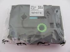 "GENUINE BROTHER P-TOUCH TZ-231 TZe-231 12mm 1/2"" LABEL TAPE BLACK INK 26.2 ft"